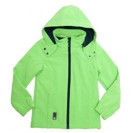 Topo Chlapecká softshellová bunda - zelená
