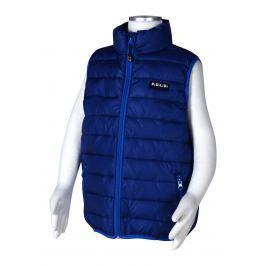 PIDILIDI Chlapecká nylonová prošívaná vesta - tmavě modrá