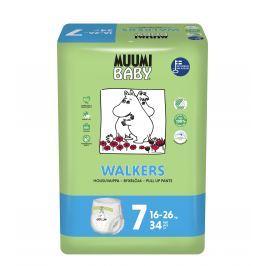 Muumi Baby dětské jednorázové pleny Walkers 34 ks Extra Large 16-26 kg
