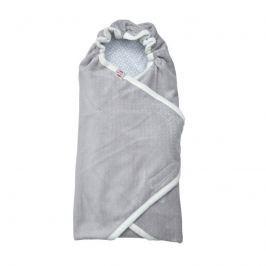 Lodger Wrapper Newborn Scandinavian Flannel Mist, 115x115 cm