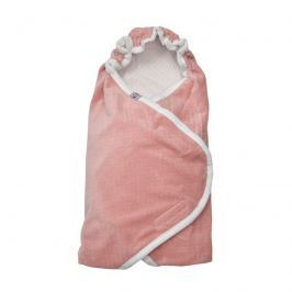 Lodger Wrapper Newborn Scandinavian Flannel Blush, 115x115 cm