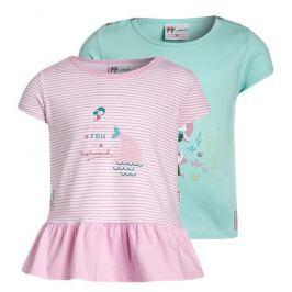 Gelati Dívčí set 2 ks triček - barevný