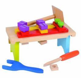 Simba Dřevěný pracovní stolek s příslušenstvím