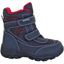 Protetika Chlapecké kotníkové zateplené boty Stadler - černé b3b4463729