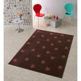 Hanse Home Dětský koberec Hvězdičky, 140x200 cm - hnědý