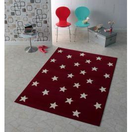 Hanse Home Dětský koberec Hvězdičky, 140x200 cm - červený