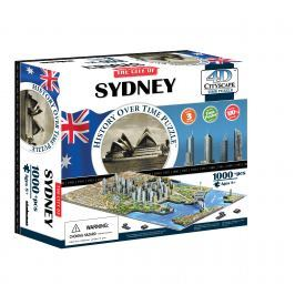4D CITYSCAPE 4D Puzzle - Sydney
