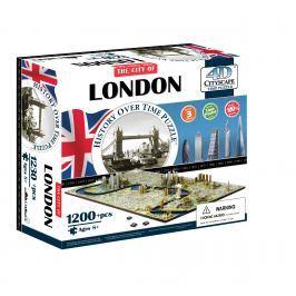 4D CITYSCAPE 4D Puzzle - Londýn
