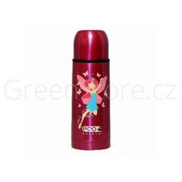 Vakuová termoska s hrníčkem Pink Fairy 350ml Eco Bottle