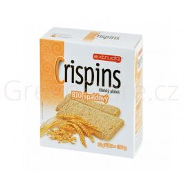 Chlebíček vícezrnný špaldový Crispins 100g BIO EXTRUDO