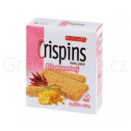 Chlebíček kukuřičný s amarantem Crispins bezlepkový 100g BIO EXTRUDO