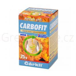 CARBOFIT aktivní rostlinné uhlí 25g DACOM