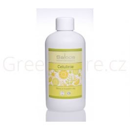 BIO tělový a masážní olej Celulinie 250ml Saloos