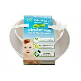 Dětský jídelní set z bioplastu Biodora