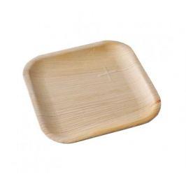 Palmový talíř čtvercový 20x20x1cm Areca (10ks)