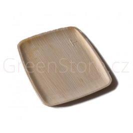 Palmový talíř obdélníkový 20x15x1cm Areca (10ks)