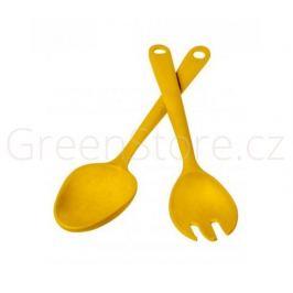 Salátová sada žlutá Living Eco Dining