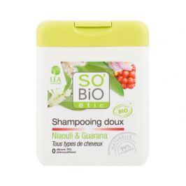 BIO Šampon jemný na vlasy niaouli-guarana 250ml SO´BIO