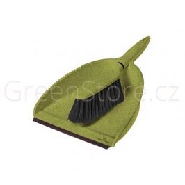 Ekologický smetáček s lopatkou zelený Greener Cleaner