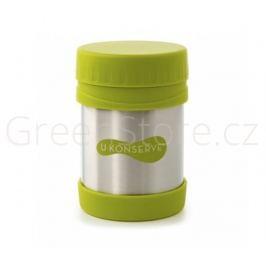 Termoska na jídlo nerezová - zelená 355ml U Konserve