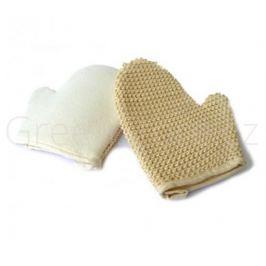 Koupací a masážní rukavice z přírodního sisálu Caribbean Sun
