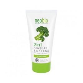 Intenzivní Kondicionér a kúra na vlasy 2v1 Bio Brokolicový olej & Karite máslo 150ml Neobio