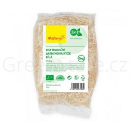 Rýže jasmínová bílá BIO 250g Wolfberry