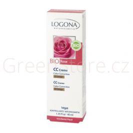 CC Krém Bio Růže No.03 béžová 40ml Logona Dekorativní