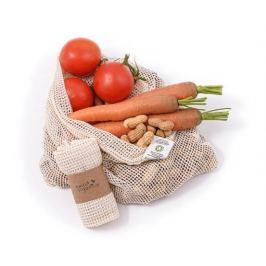 Síťový sáček z biobavlny na ovoce a zeleninu 38x30cm Tierra Organica
