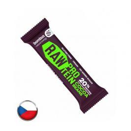 Bombus Raw protein tyčinka Cocoa beans 50g