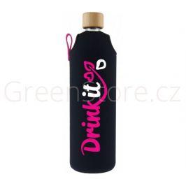 Skleněná láhev s obalem Neonka 700ml Drink it