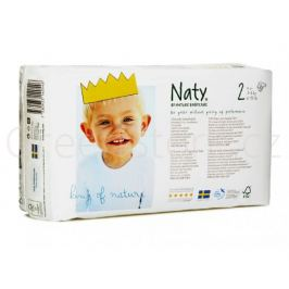 Eko plenky vel.2 (3-6kg) 34ks Naty Nature