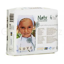 Eko plenky vel.4 (7-18kg) 27ks Naty Nature