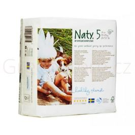 Eko plenky vel.5 (11-25kg) 23ks Naty Nature