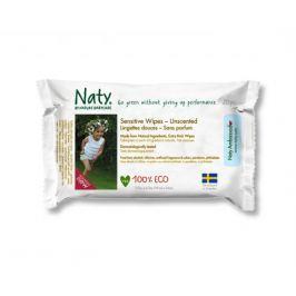 Vlhčené ubrousky bez vůně 20ks Naty Nature