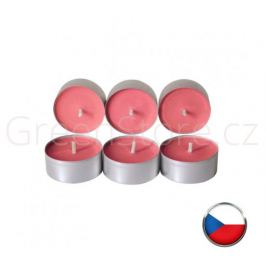 Čajové svíčky ze sojového vosku 6ks - višeň Aromka - DOPRODEJ 1 balení