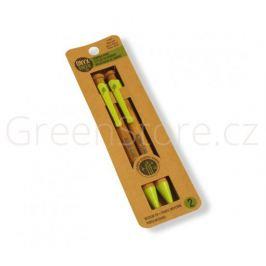 Sada 2 propisek z bambusu - modrá náplň Onyx+Green