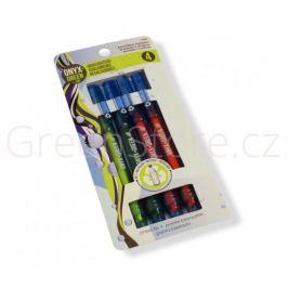 Sada zvýrazňovačů z recyklovaných láhví - 4 barvy Onyx Green - doprodej posl. 1bal.
