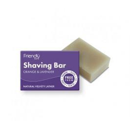 Friendly Soap Přírodní mýdlo na holení pomeranč a levandule 95g