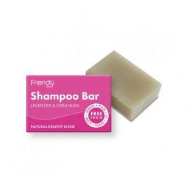 Friendly Soap Přírodní mýdlo na vlasy levandule a pelargónie 95g