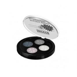 Lavera Minerální oční stíny Quatro 01 Kouřově šedá 3,2g
