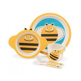 Zopa 5 dílná dětská jídelní sada - včelka