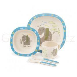 Zopa 5 dílná dětská jídelní sada - slon