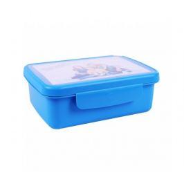 Svačinový box Zdravá sváča - modrý R&B Mědílek