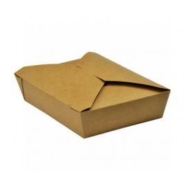 Papírový kraft box 1500ml - 19x14x5cm (280ks)