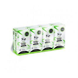 Cheeky Panda bambusové kapesníčky 3-vrstvé, 8 balení