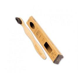 Ecohead Bambusový zubní kartáček Medium s aktivním uhlím