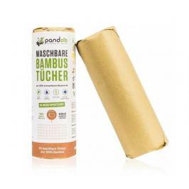 Pandoo Opakovaně použitelné bambusové utěrky 20ks
