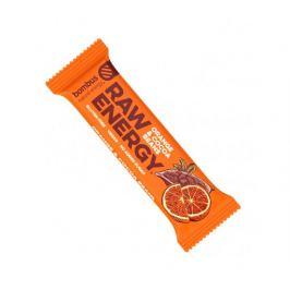 Bombus Raw energy tyčinka Pomeranč & Kakao 50g Energy tyčinky