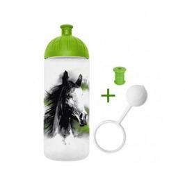FreeWater Láhev 0,7l - Kůň zelený + špunt + krytka zdarma